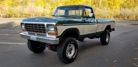 vintage classic 1979 Ford F 250 Ranger monster pickup for sale