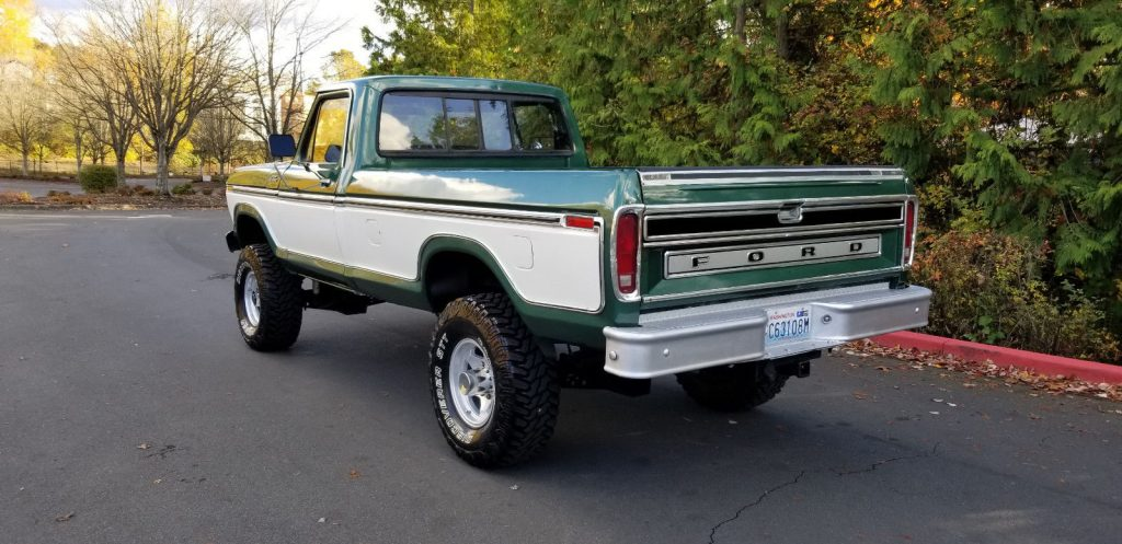 vintage classic 1979 Ford F 250 Ranger monster pickup