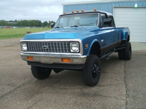 custom built 1972 Chevrolet C/K Pickup 3500 monster for sale