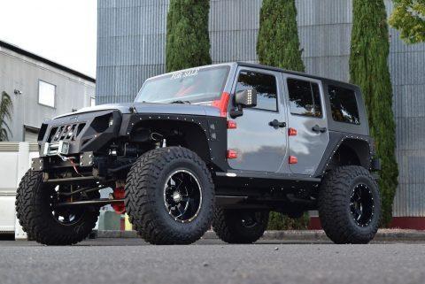 Hemi powered 2008 Jeep Wrangler Rubicon monster for sale