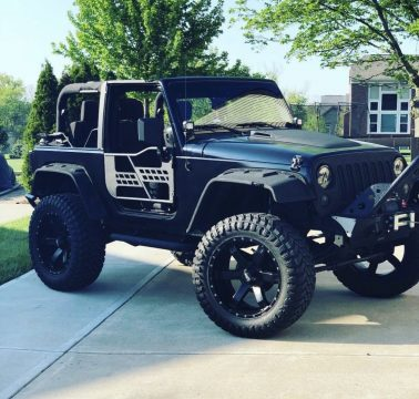 many upgrades 2015 Jeep Wrangler Sport monster for sale