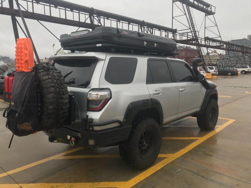 perfect shape 2015 Toyota 4runner Trail monster