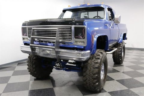 very nice 1978 Chevrolet K 10 Scottsdale 4×4 monster for sale