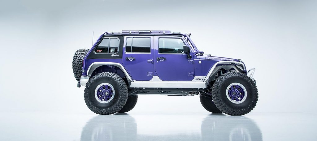 well modified 2017 Jeep Wrangler Rubicon monster