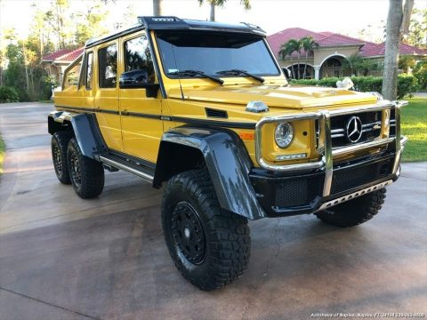 amazing 2016 Mercedes Benz G Class AMG G 63 monster for sale