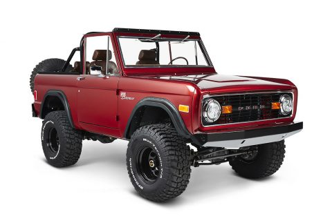 awesome 1977 Ford Bronco Coyote monster for sale