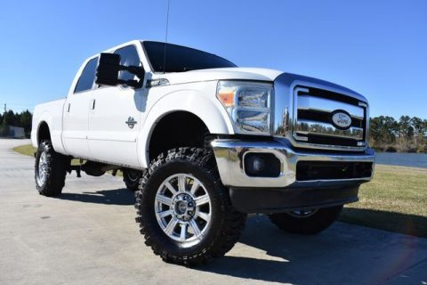 clean 2011 Ford F 250 Lariat monster truck for sale