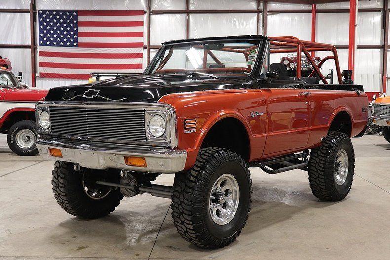 completely rebuilt 1972 Chevrolet Blazer K5 monster truck