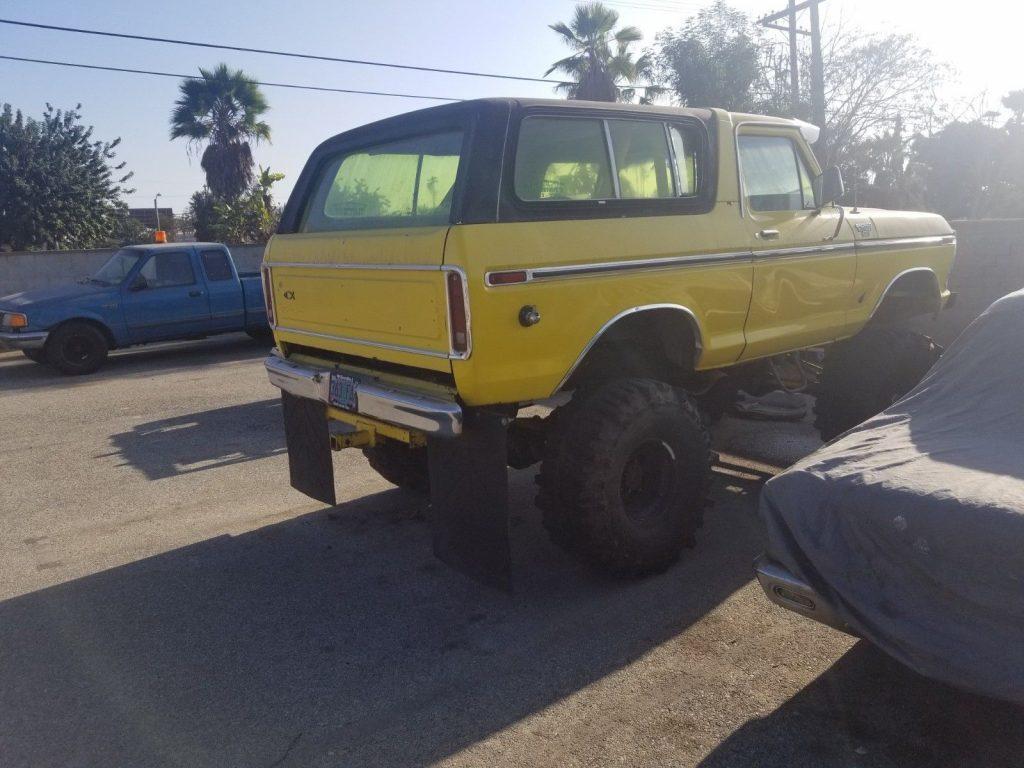 custom built 1979 Ford Bronco Ranger monster