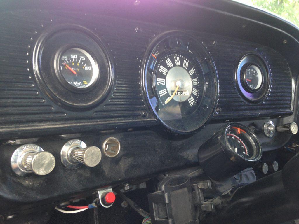 custom lifted 1963 Ford F 100 monster pickup
