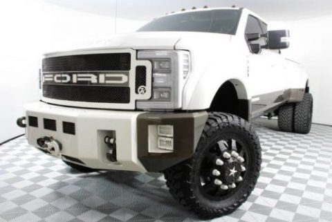 loaded custom 2017 Ford F450 King Ranch monster for sale