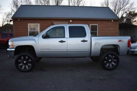 very clean 2012 Chevrolet Silverado 1500 monster for sale