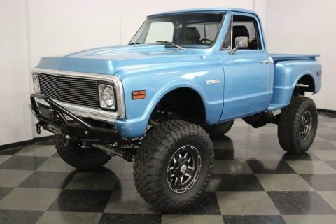 very nice 1971 Chevrolet C 10 4X4 Pickup monster for sale