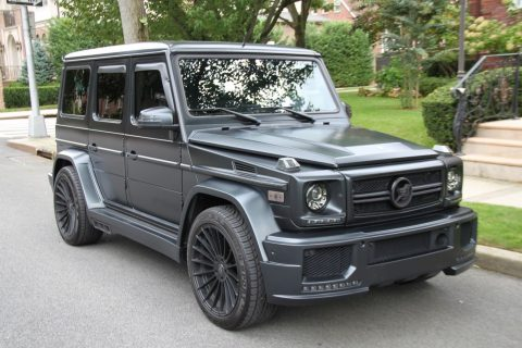 well customized 2013 Mercedes Benz G 63 AMG monster for sale