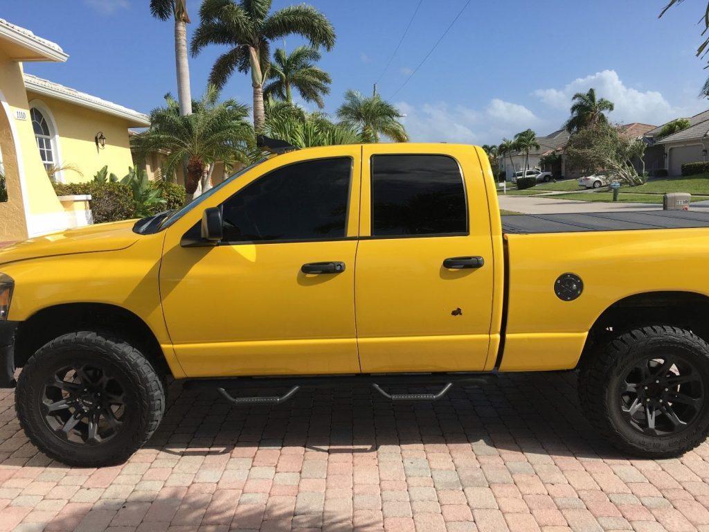 well modified 2008 Dodge Ram 1500 SLT monster pickup