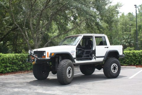 custom built 1997 Jeep Cherokee Sport monster for sale