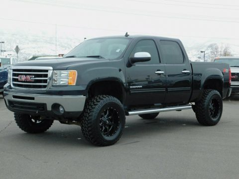 custom lifted 2012 GMC Sierra 1500 SLE Z71 monster pickup for sale