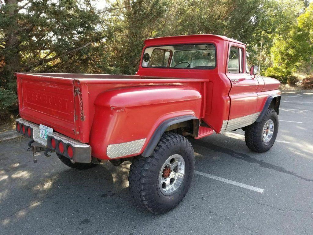 customized 1963 Chevrolet C/K Pickup 2500 monster pickup