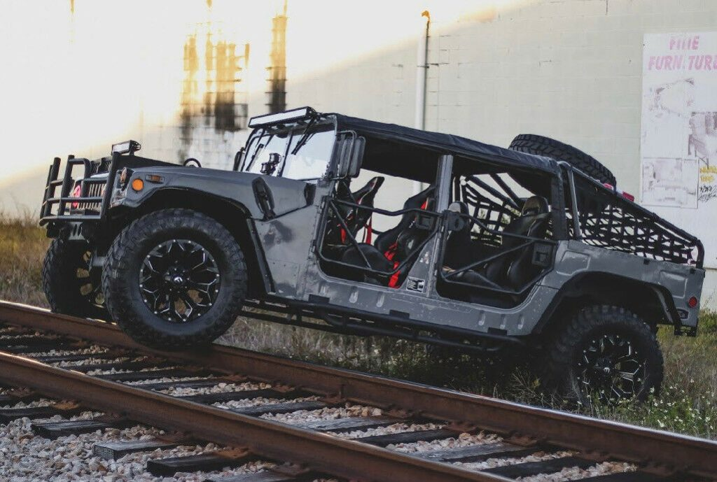 fully customized 1990 Hummer H1 Humvee monster