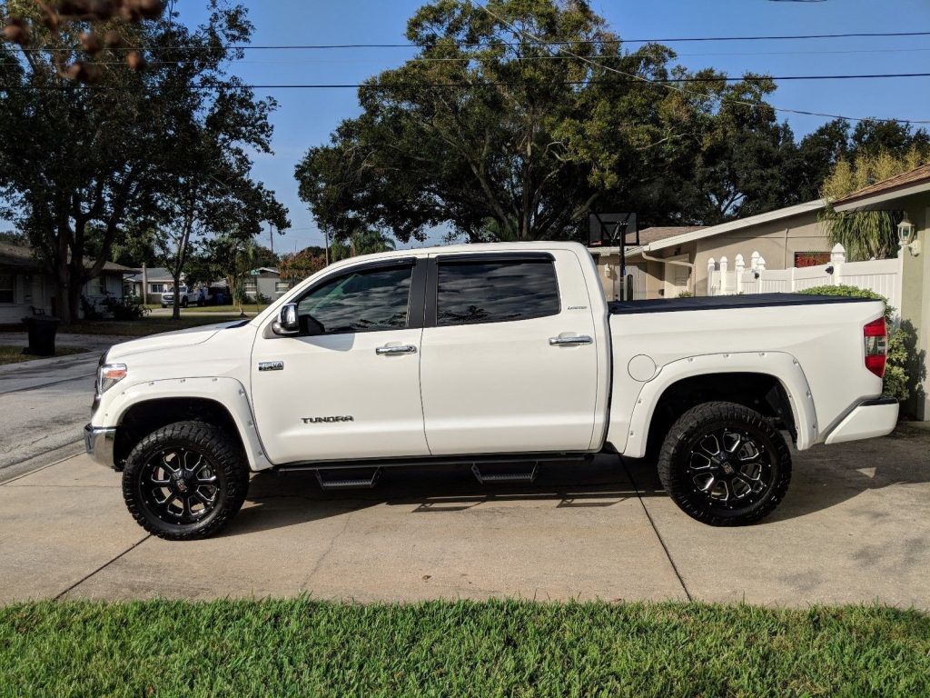 low miles 2018 Toyota Tundra Limited monster pickup