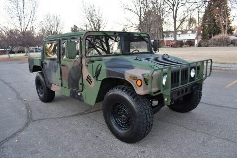 rare survivor 1988 Hummer M988 Humvee monster for sale