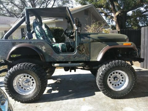 restored 1976 Jeep CJ 5 monster for sale