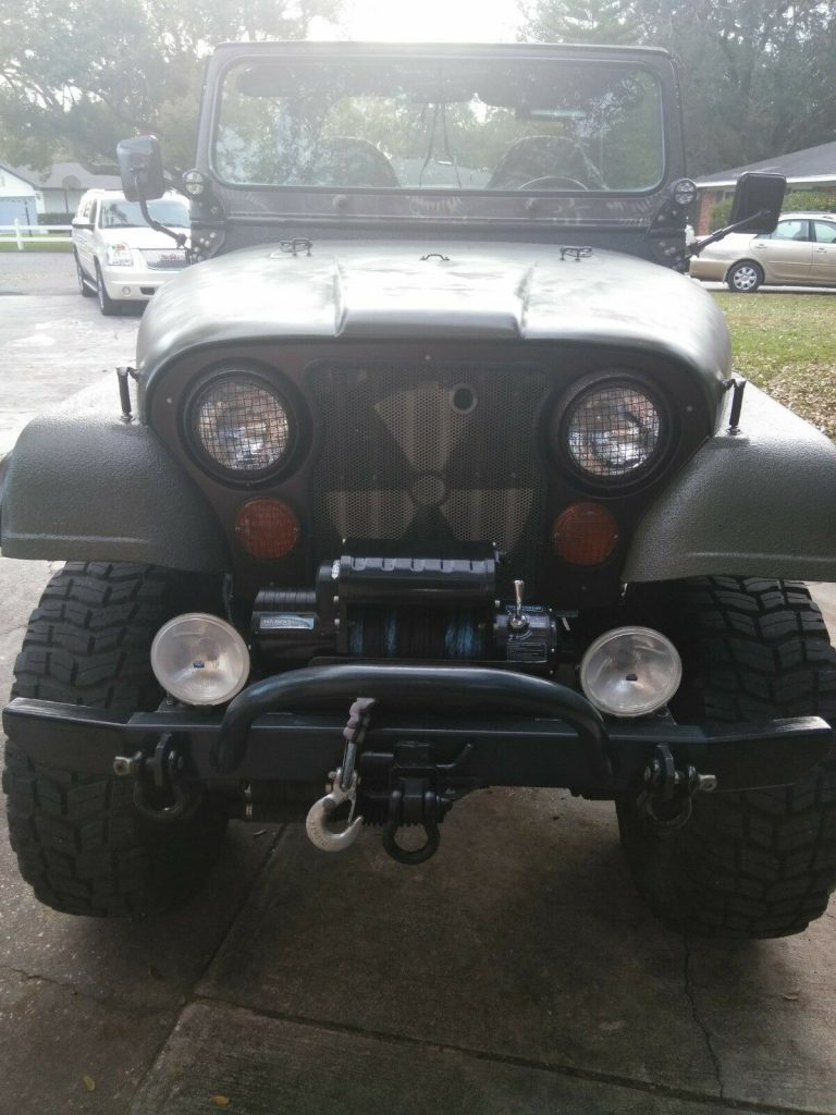 restored 1976 Jeep CJ 5 monster