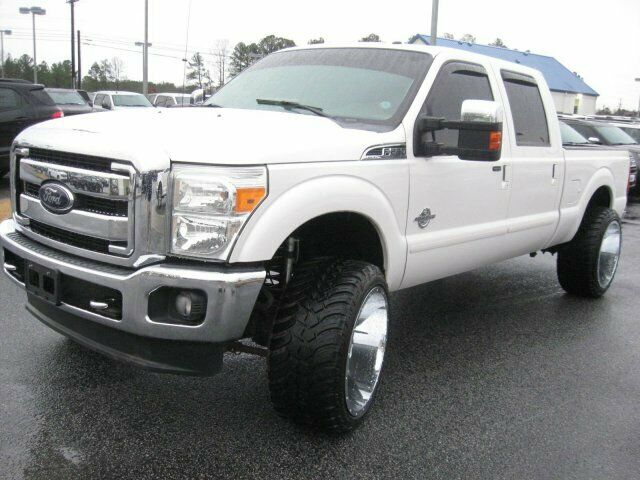well customized 2012 Ford F 250 Lariat pickup monster