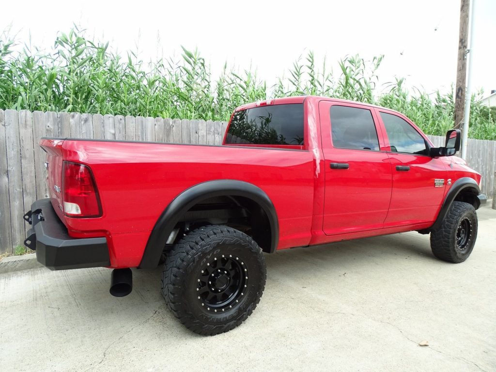 customized 2012 Dodge Ram 2500 ST monster
