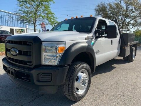 great running 2013 Ford F 550 crew cab flatbed monster for sale