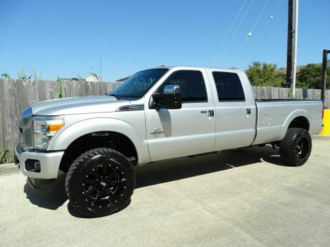 nicely equipped 2013 Ford F 350 Lariat pickup monster for sale