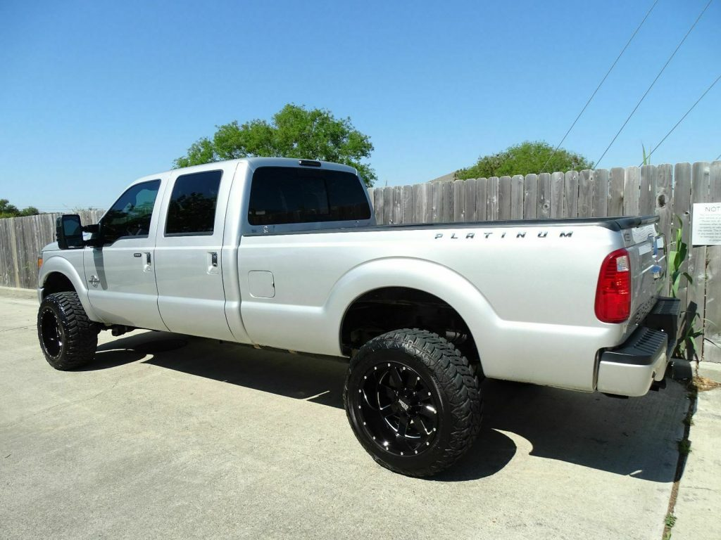 nicely equipped 2013 Ford F 350 Lariat pickup monster