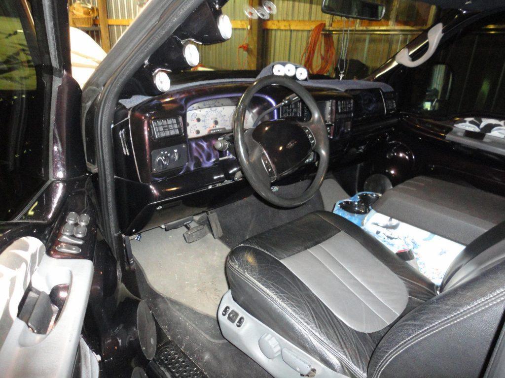 show car 1999 Ford F 350 Custom Dually monster truck