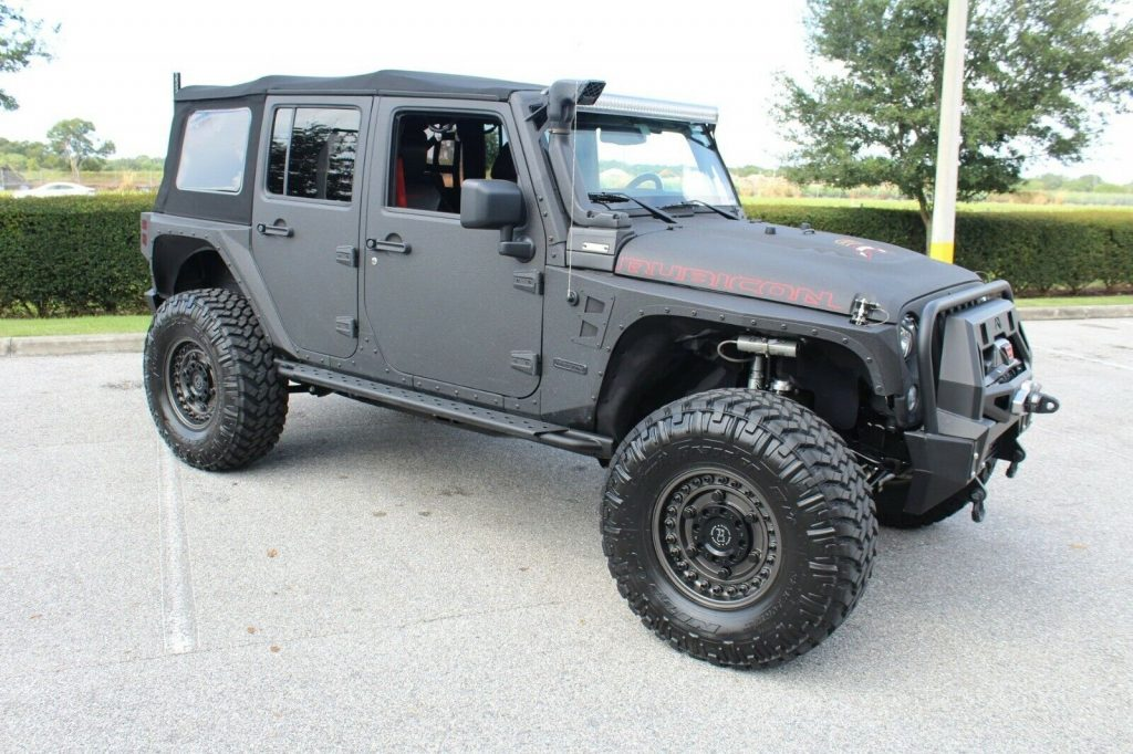 armored 2017 Jeep Wrangler Rubicon monster