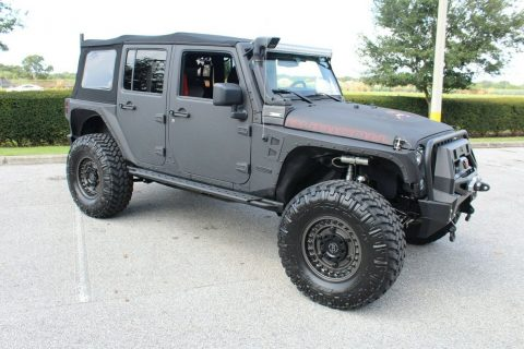 armored 2017 Jeep Wrangler Rubicon monster for sale