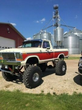 badass 1978 Ford F 150 monster truck for sale