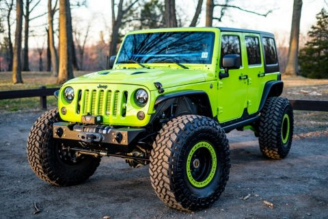 beautiful 2012 Jeep Wrangler monster for sale
