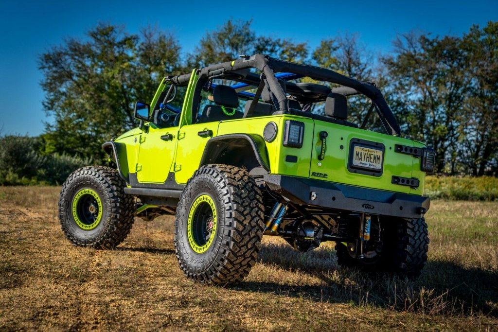 beautiful 2012 Jeep Wrangler monster