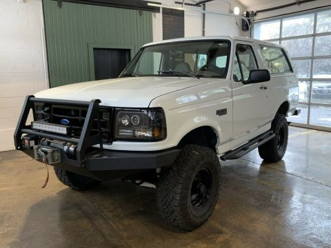 nicely modified 1995 Ford Bronco U100 monster for sale