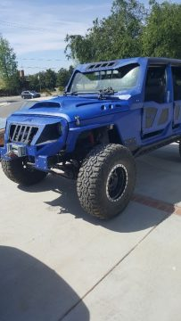 nicely modified 2010 Jeep Wrangler Sahara Rubicon monster for sale