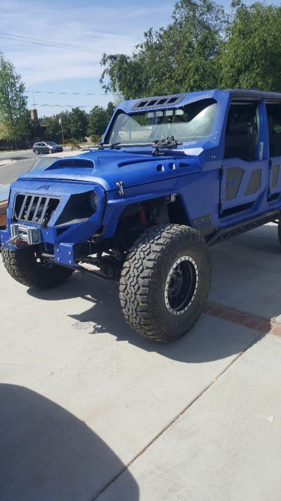 nicely modified 2010 Jeep Wrangler Sahara Rubicon monster
