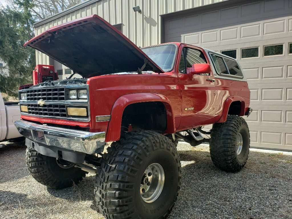 rust free 1991 Chevrolet Blazer K5 monster