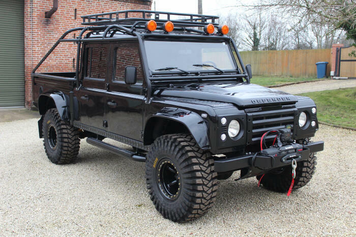 wonderful 1994 Land Rover Defender 130 Spectre 007 monster