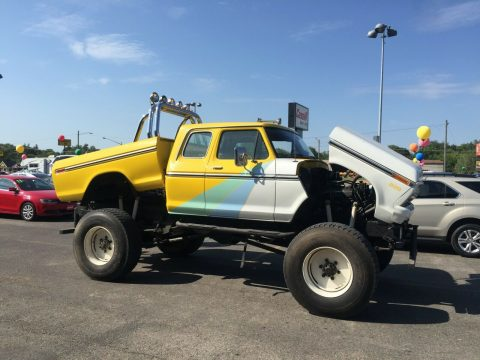 custom 1977 Ford F 250 xlt monster truck for sale