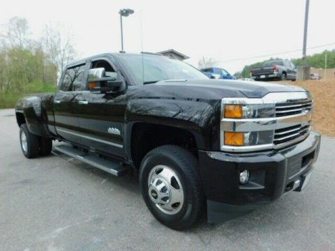 low miles 2015 Chevrolet Silverado 3500 High Country monster for sale