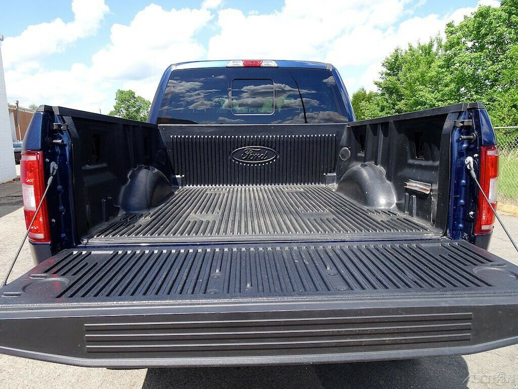low miles 2018 Ford F 150 Lariat monster