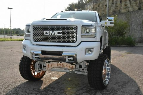 nicely customized 2015 GMC Sierra 2500 Denali monster for sale