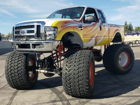 real classic 2008 Ford F 250 Overtime Monster Truck for sale