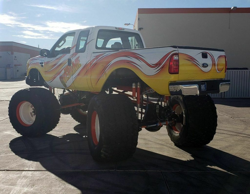 real classic 2008 Ford F 250 Overtime Monster Truck