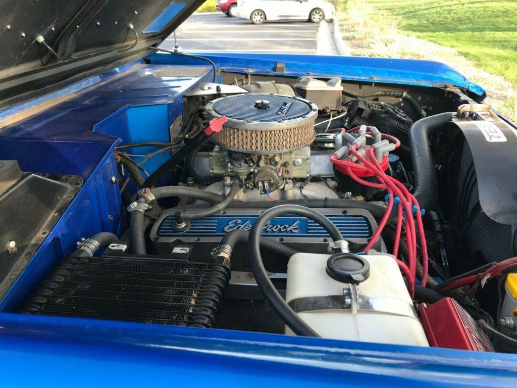 rebuilt engine 1970 Ford Bronco monster